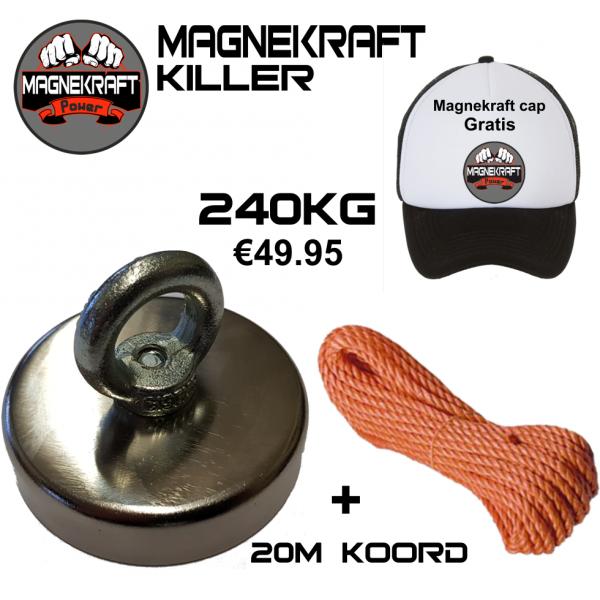 MagneKraft Killer vismagneet 240kg