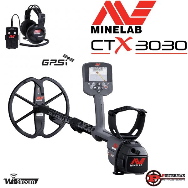 Minelab Ctx3030 met gratis vondstenvest