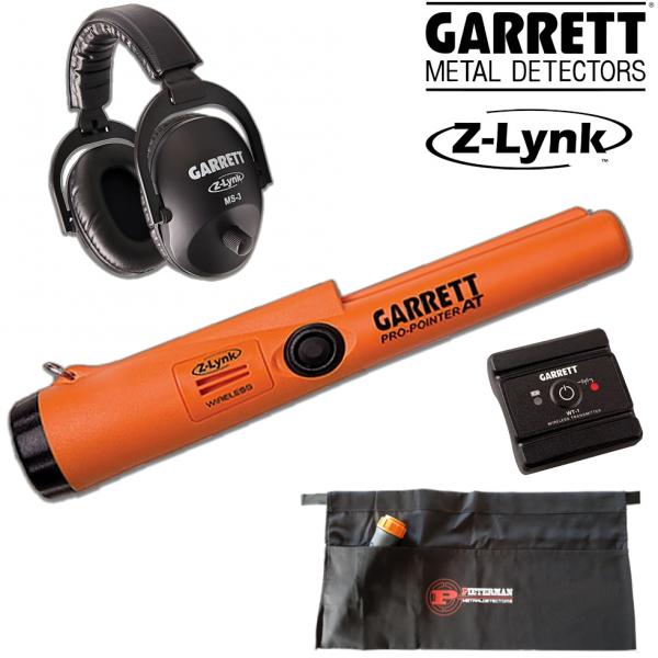 Garrett Z-Lynk Set MS-3 + Z-Lynk Pro-Pointer AT