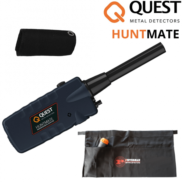 Quest huntmate pinpointer (Zwart)