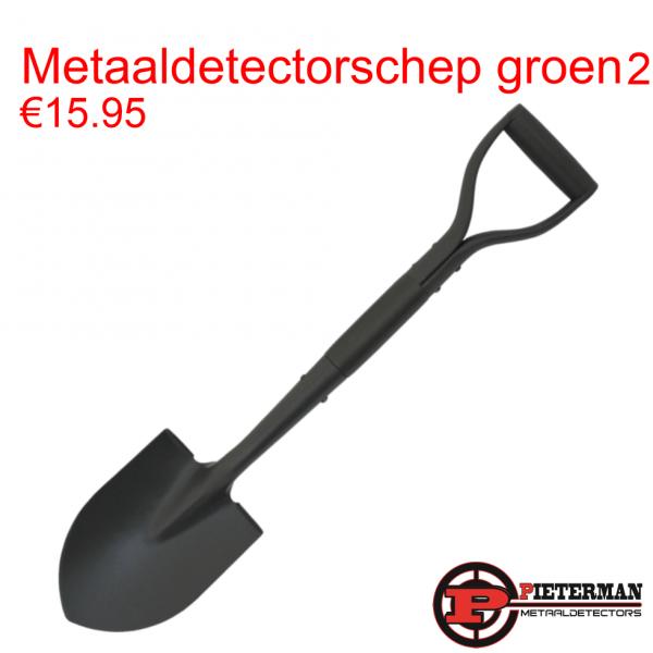 Metaaldetectorschep groen model 2
