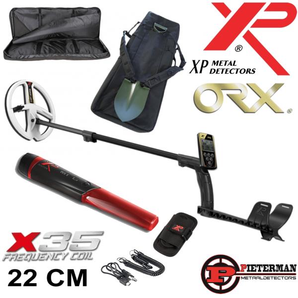 Actie XP ORX 22cm HF schotel met MI-6 pinpointer en backpack gratis