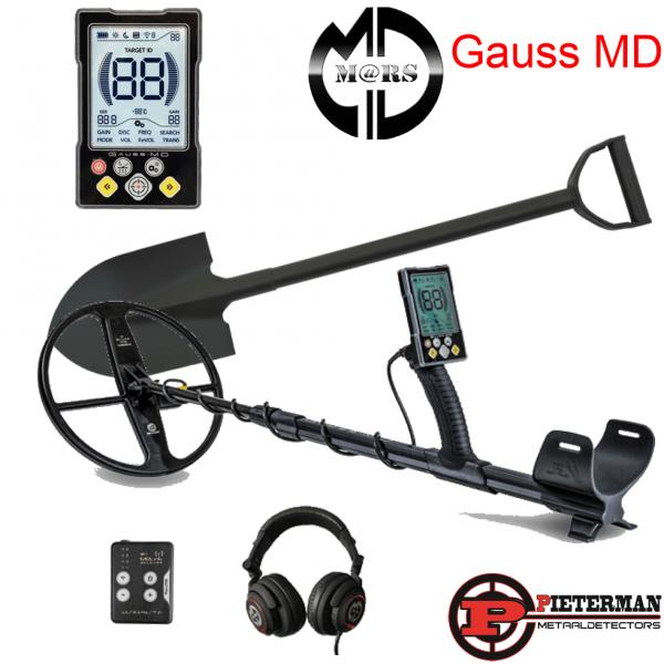 Gauss MD licht met draadloze hoofdtelefoon set.