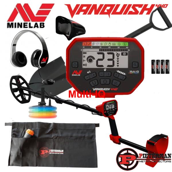 Minelab Vanquish 440 Multi-IQ, starterspakket