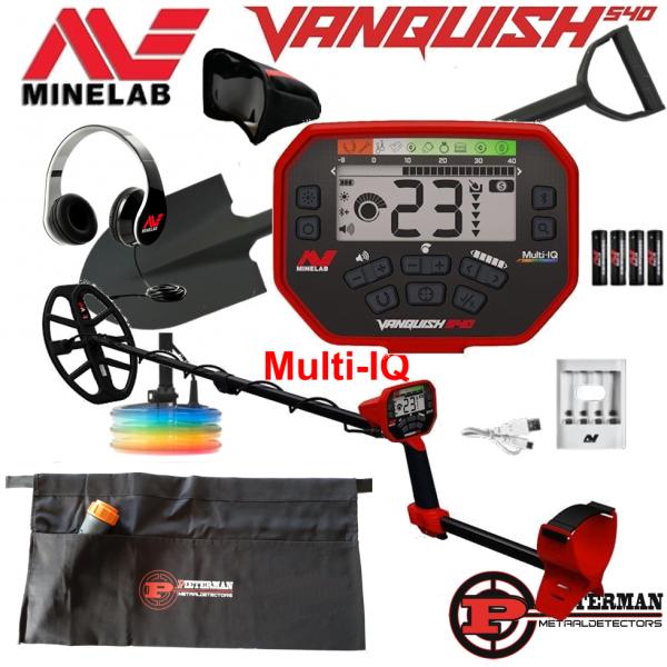 Minelab Vanquish 540 Multi-IQ, starterspakket