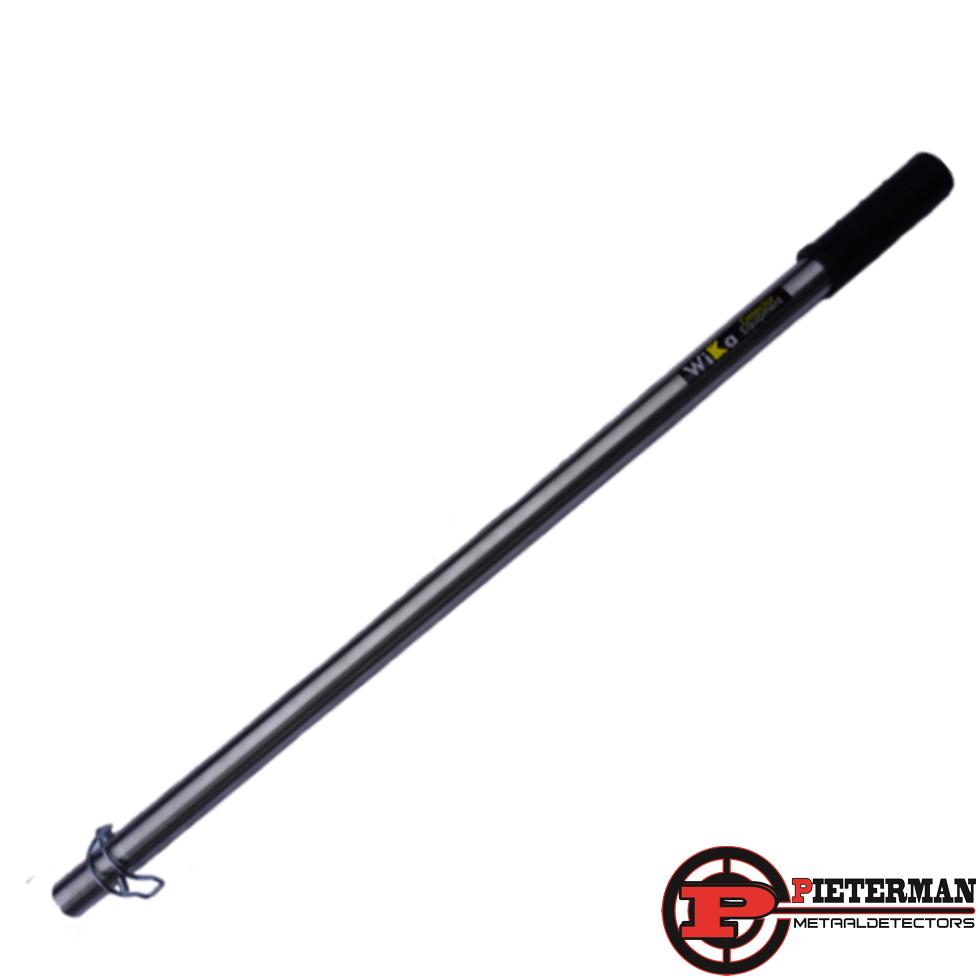 Wika waadschep steel 119cm gepolijst RVS (voor waadschep model 5)
