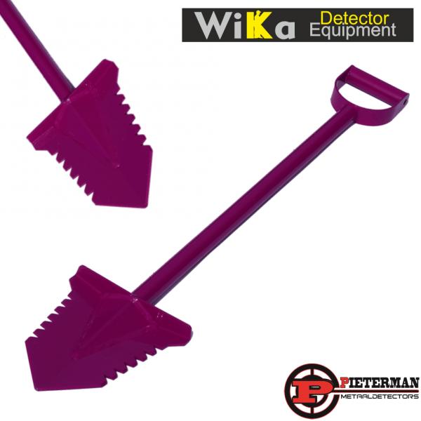 Wika Pink Thunder gehard stalen schep 95cm met poedercoating.
