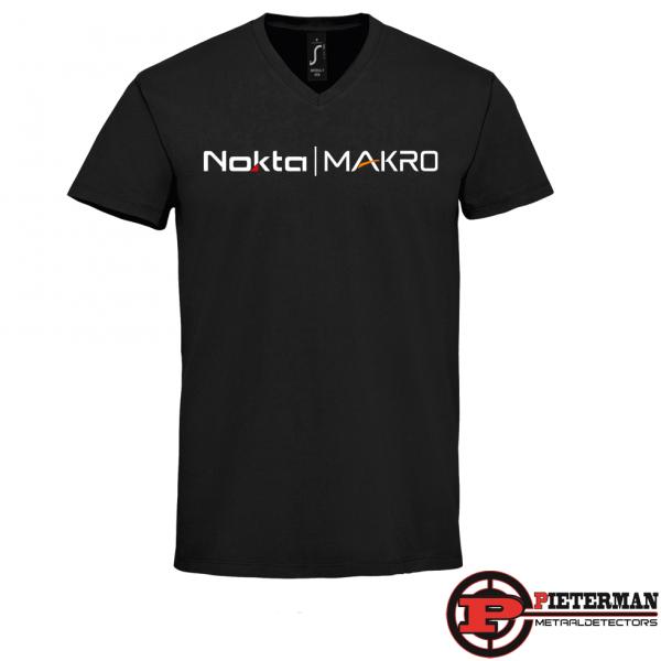 Nokta-Makro T-shirt met v hals
