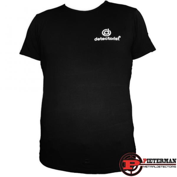 Detectorist T-shirt zwart